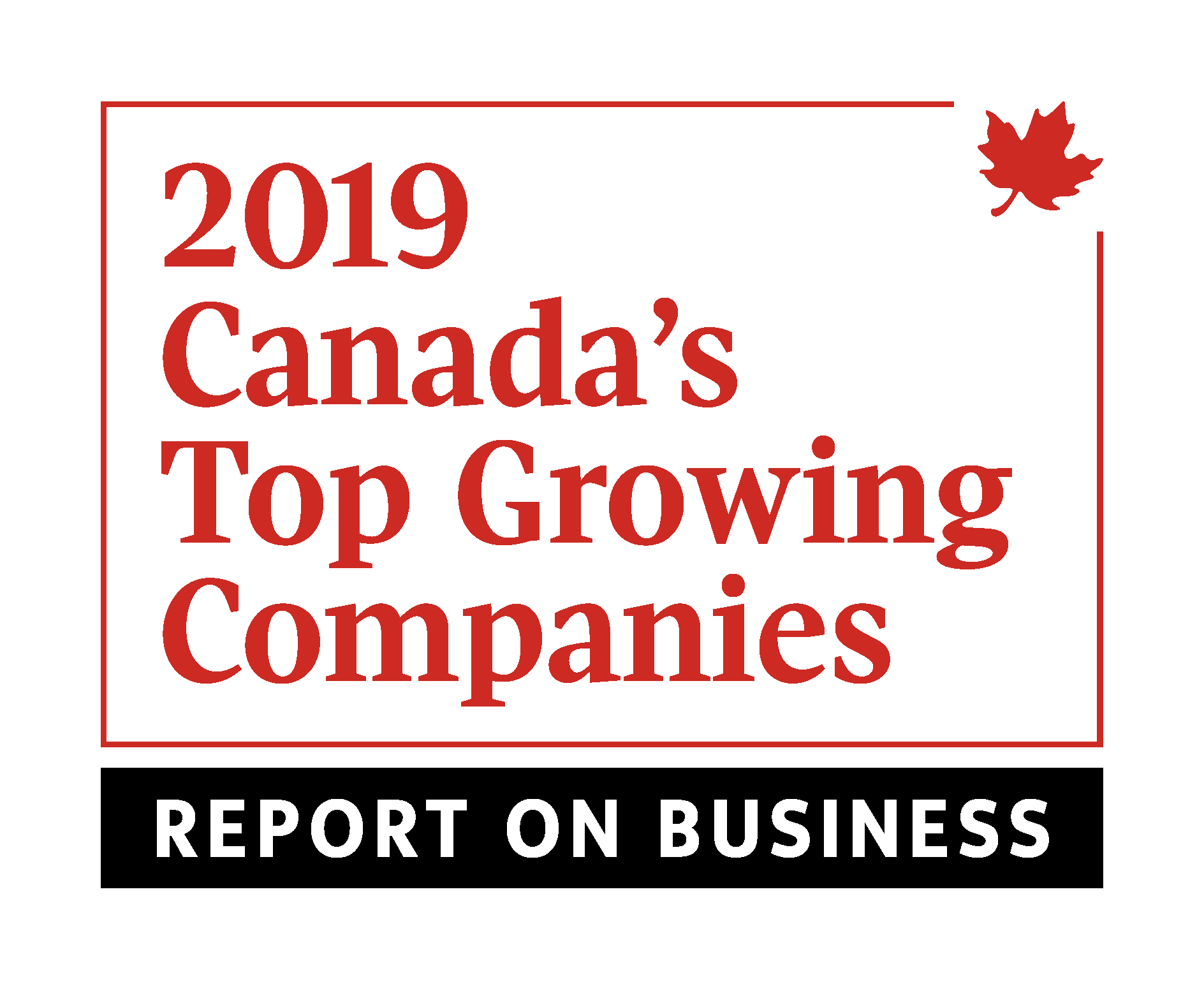 geotab award 2019 Canada's Top Growing companies