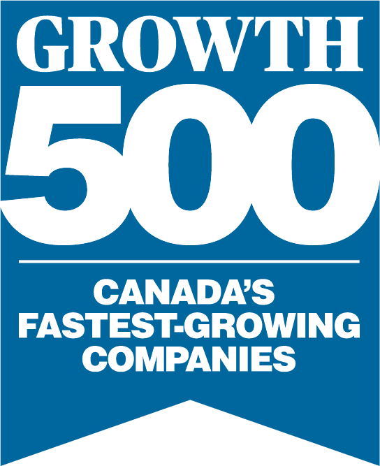 Geotab Award Growth 500 - Canada's fastest growing companies