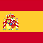 Icon with Spanish flag